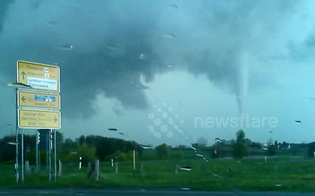 Tornado And Severe Storms Hit Northern Germany Earth