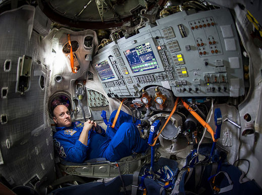 What are the psychological effects of being in space?