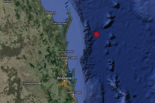 Queensland earthquake
