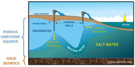 Florida Aquifer Contamination Continues As Salt Water