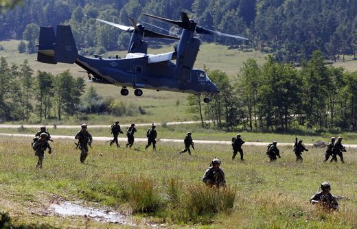 Preparing for the worst: Russian and NATO military exercises making war in Europe more likely?