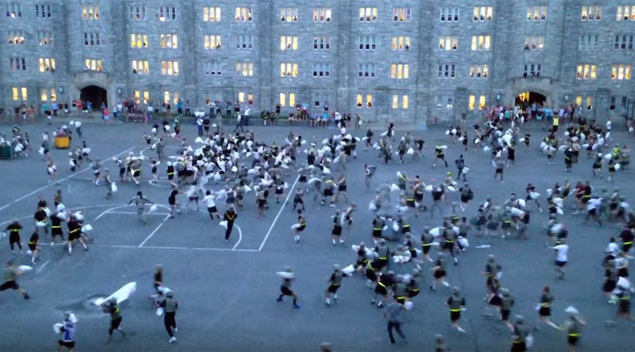 More West Point insanity: Traditional pillow fight leaves 30 cadets injured -- Society s Child ...