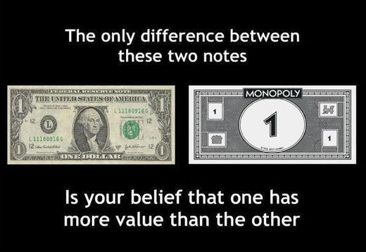 The concept and illusion of money