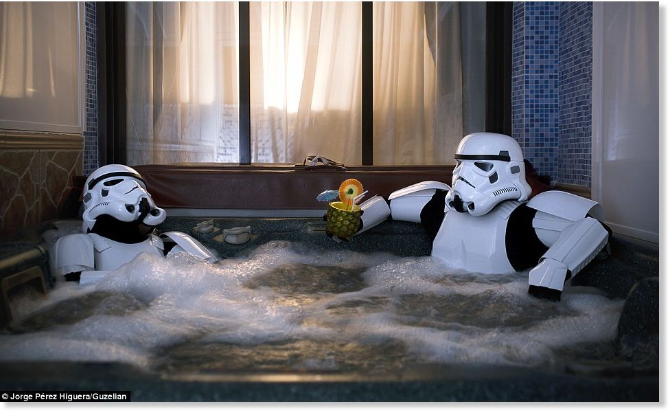 How To Unwind From The Dark Side Stormtroopers