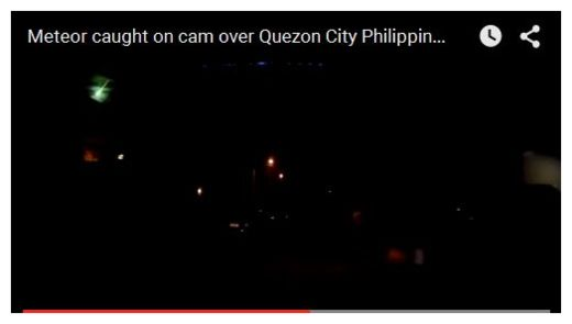 Meteor Over Quezon