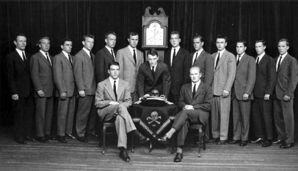 Skull And Bones The Disgusting Initiation Ceremonies At The Heart
