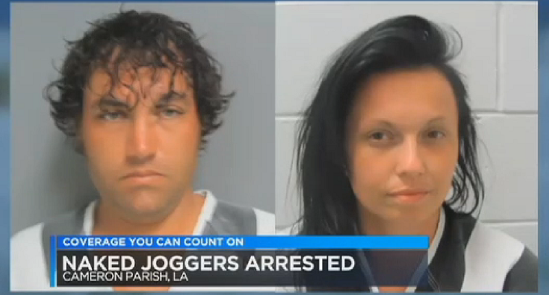 Naked Couple Arrested for Allegedly Leaving Baby Girl
