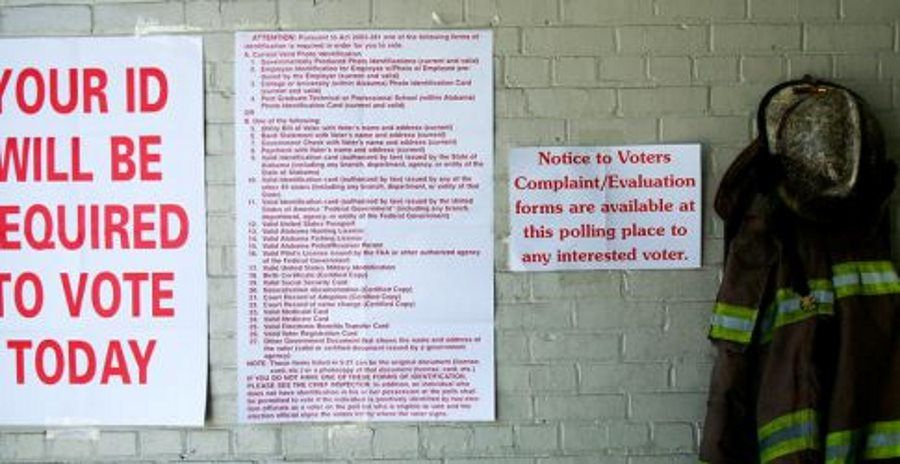 Alabama passes Voter ID law - closes driver's license ...