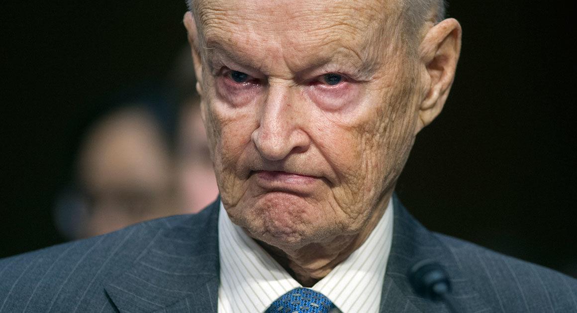 Zbigniew Brzezinski: Rusko nectí západní státy ani NATO. Putin nás zkouší a proto musí dostat varování!