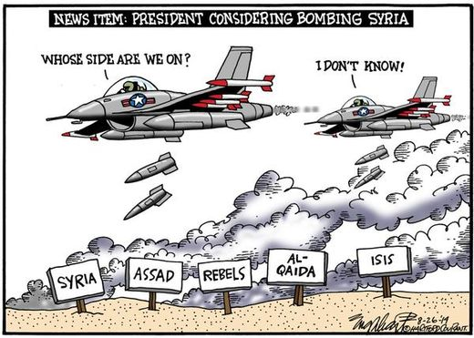 US bombing Syria