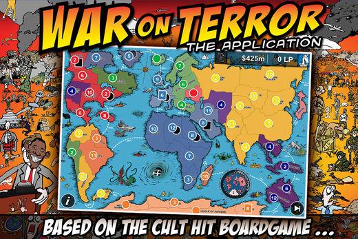 """Gra planszowa """"Wojna z terrorem"""". Tyle tylko, że to nie jest gra planszowa."""