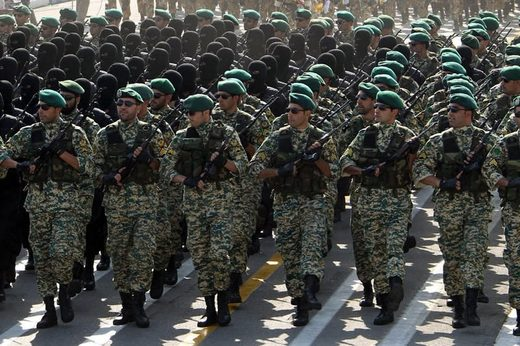 Iranian troops syria
