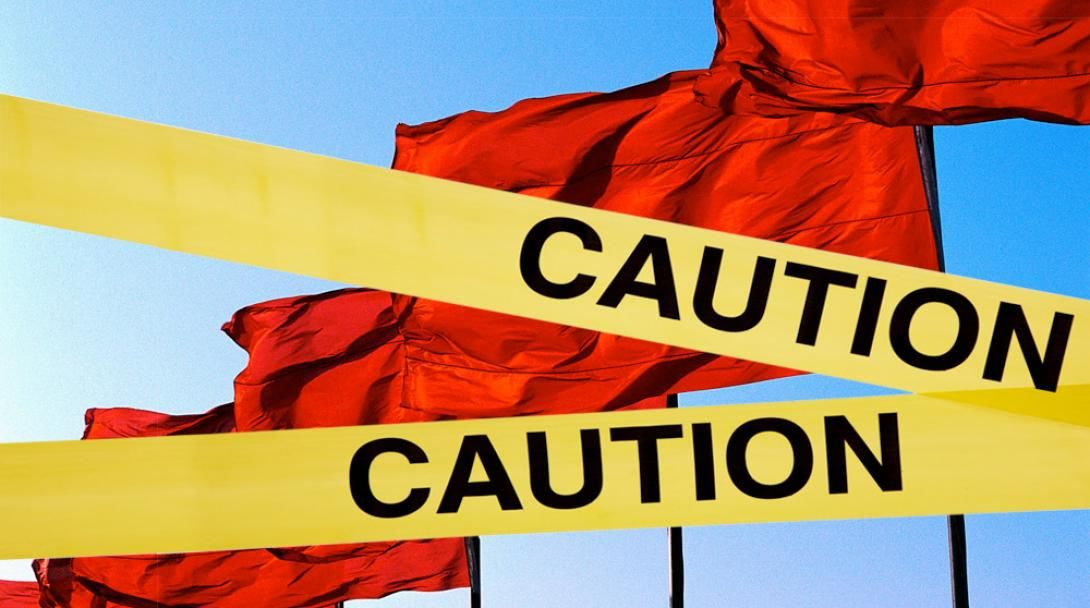 Red flags of a bad relationship
