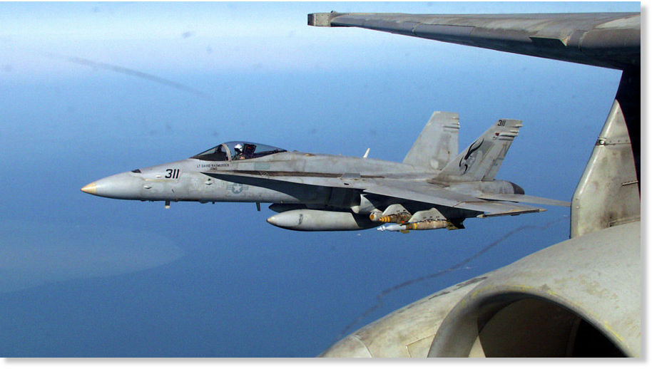 Boeing unveils UPGRADED F18 Advanced Super Hornet Fighter for US NAVY and airforce
