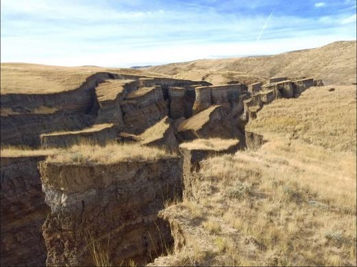 wyoming earth crack