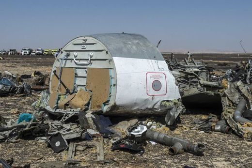 sinai egypt crash russian plane
