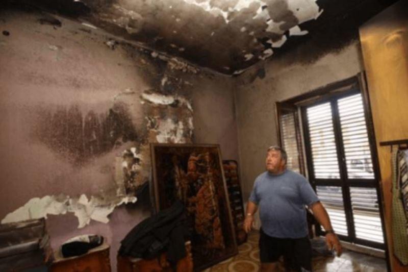 Italian Govt Suspects Bizarre Fires In Sicily Caused By
