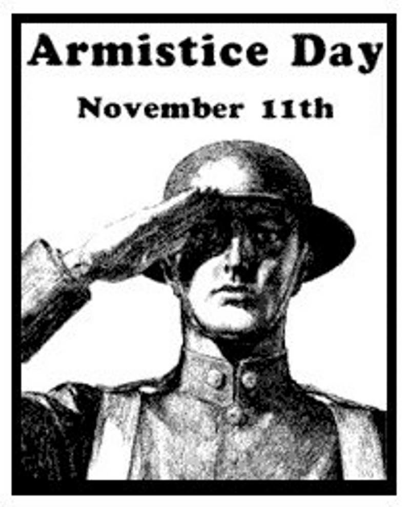 Armistice Day 97 years on - we have learned nothing ...