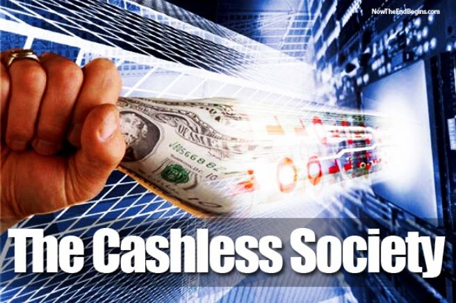 a cashless society However, despite the growing popularity of electronic payments, the cashless  society is not here yet demand for banknotes is still growing in.