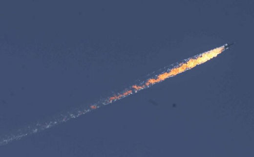 Russian jet shot down