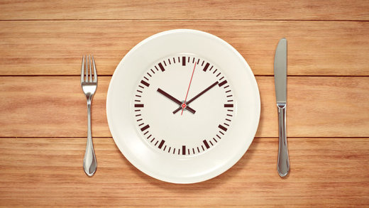 empty plate clock intermittent fasting