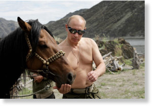 Shirtless Putin