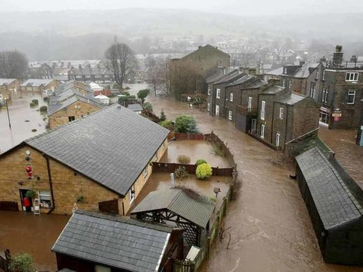 Mytholmroyd, West Yorkshire floods