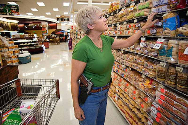 Open carry of guns now allowed in Texas, USA -- Society's