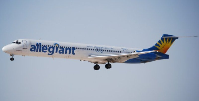 Third Allegiant Flight From Orlando Florida This Week