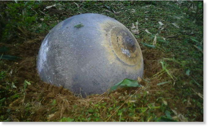 New 3 mysterious spheres fall onto 3 Vietnam provinces -- Society's  JJ72