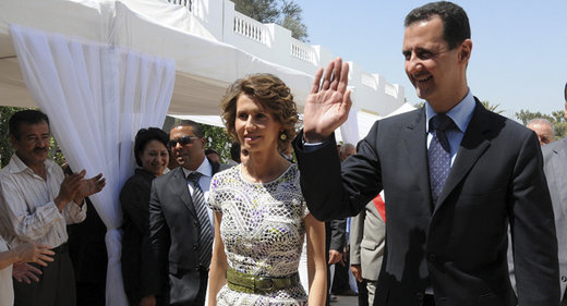Assad and first lady