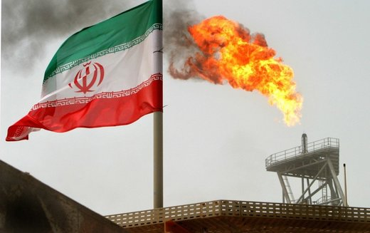 iran flag oil well india petrodollar