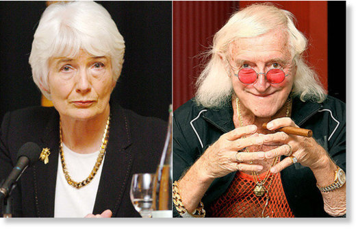 Janet Smitt and Jimmy Savile