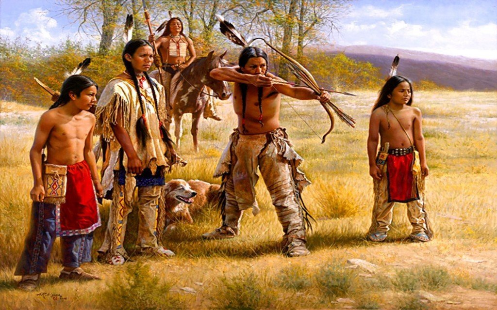 Account of the lifestyle of the plains indian tribes of america