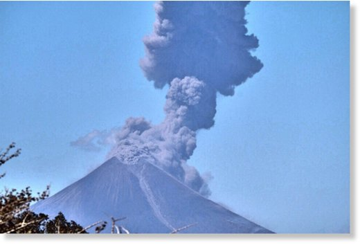 Nicaragua's Momotombo Volcano continues to erupt after a century of inactivity, on Sunday, Feb. 21, 2016.