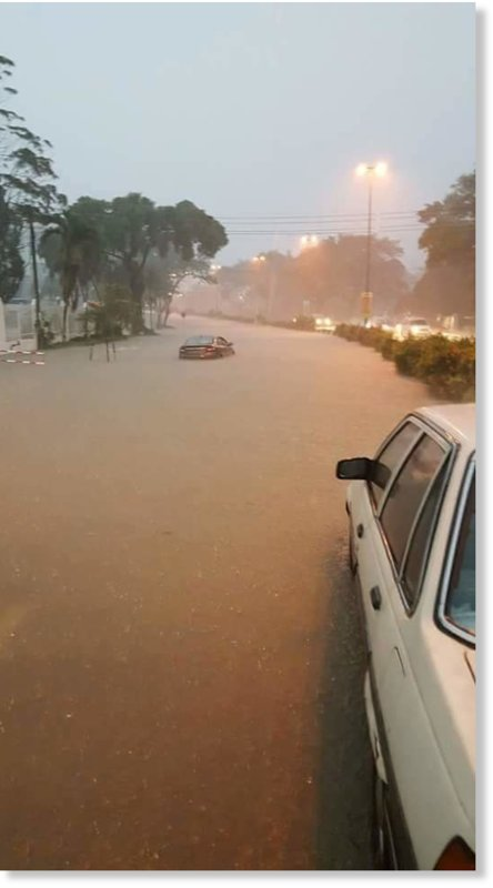 Floods in Kuching