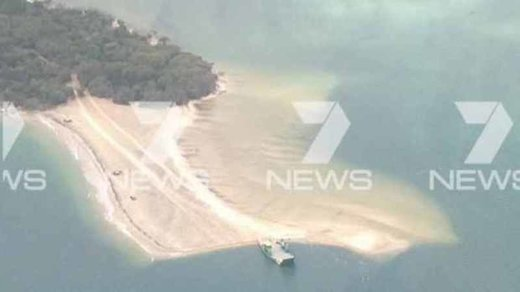 Sinkhole at Inskip Point
