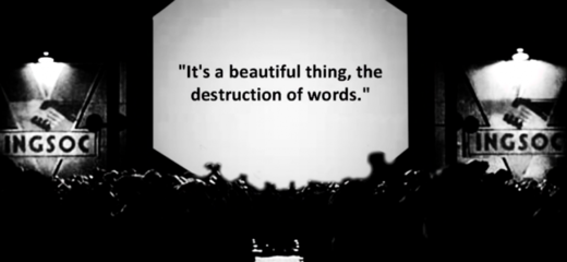 destruction of words