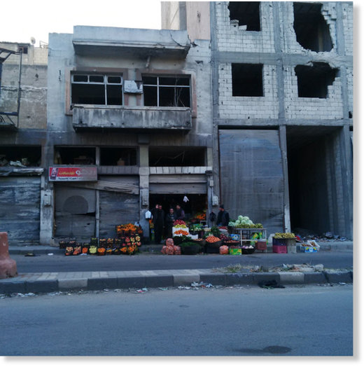 Syria Fruit Stand