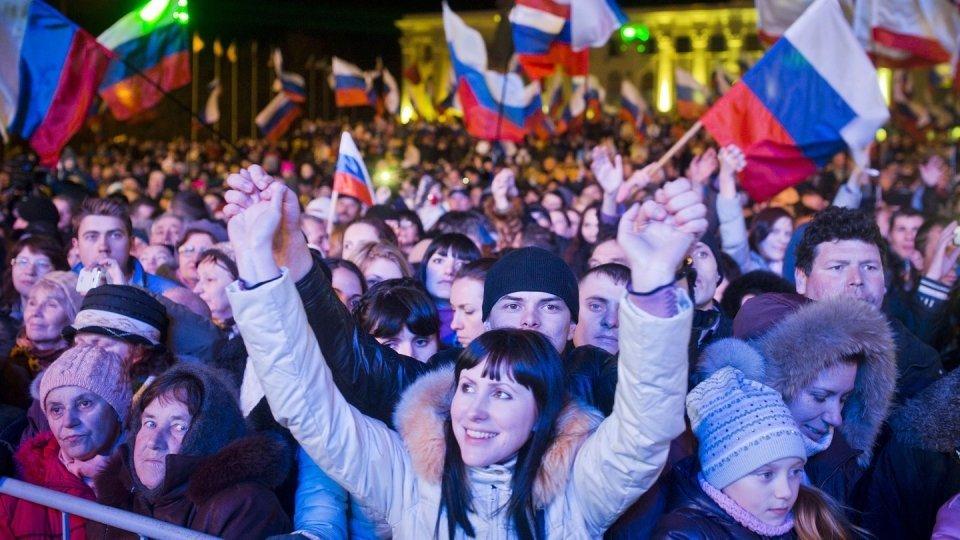 Image result for crimeans celebrate