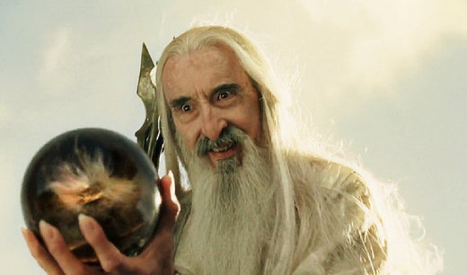 It's over Gandalf. We need to unite behind Saruman to save Middle Earth from Sauron!