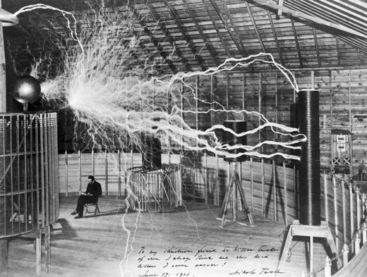 Tesla and high voltage generator
