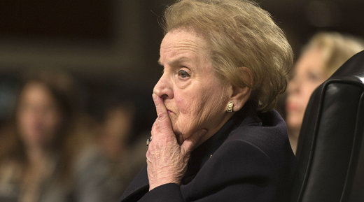 8 reasons why folks want the US diplomat Madeleine Albright in the Hague. Why stop with her?
