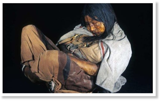 incan mummy