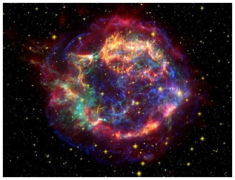Supernova explosion showered Earth with radioactive debris -- Science & Technology -- Sott.net