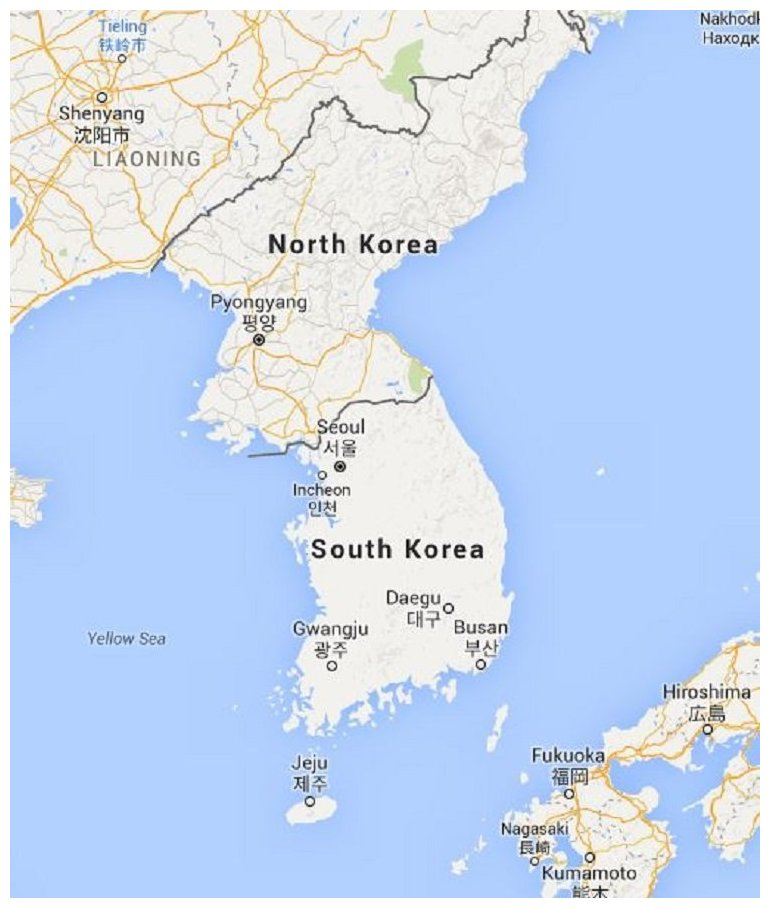 Korean War Map Activity Answer Key