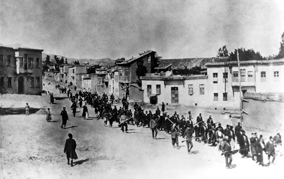the armenian genocide In 1915, the ottoman empire committed mass murder of its armenian citizens the word genocide was actually coined to describe the armenian genocide.
