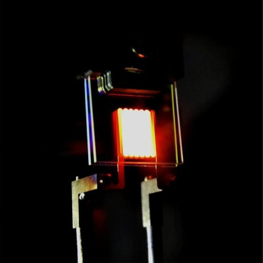 MIT prototype of new incandescent bulb
