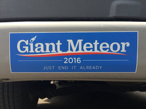 giant meteor 2016 elections