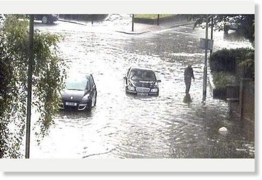 Flash Floods Hit South London For The Second Time Within A Week Earth Changes